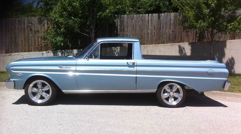 1965 ford ranchero owners manual