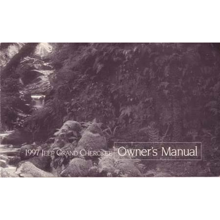 1997 jeep grand cherokee owners manual