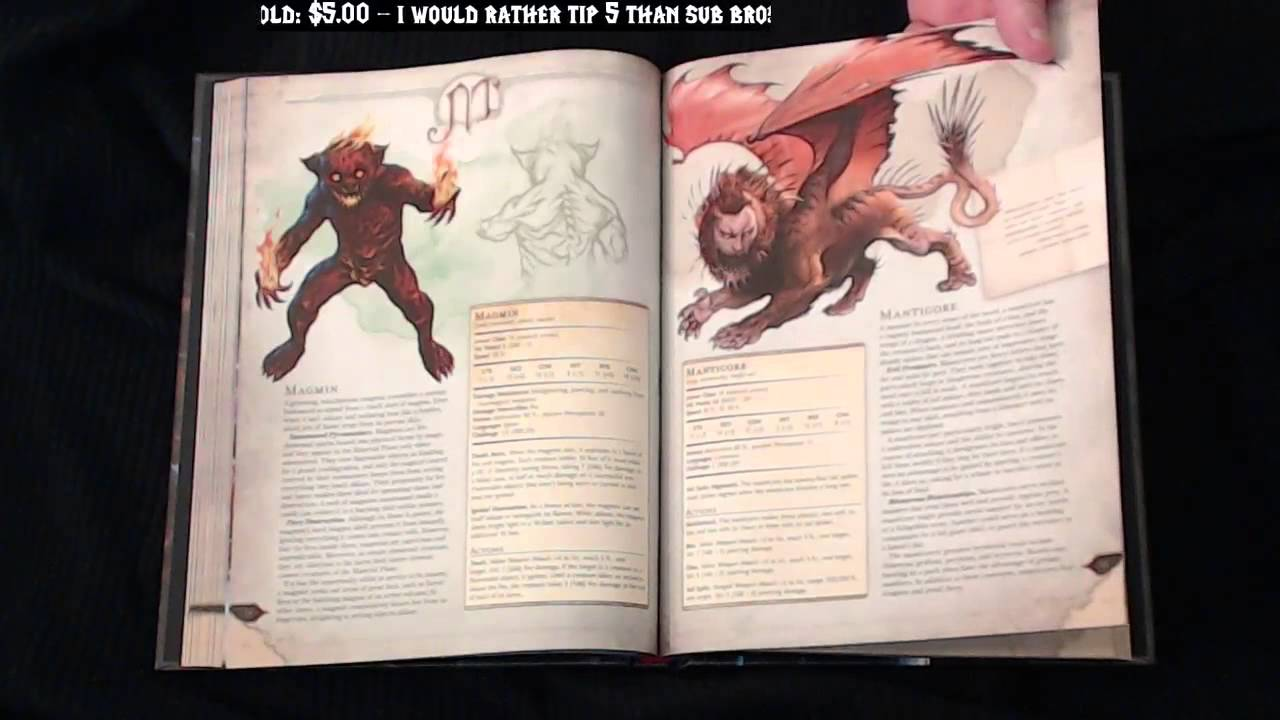 dungeons and dragons 5emonster manual 2