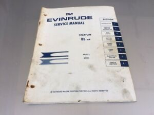 1969 evinrude 4 hp folding outboard owners manual