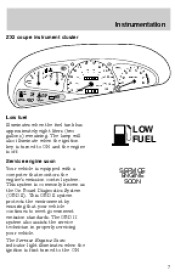 1998 ford escort owners manual