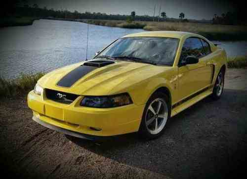 2003 ford mustang mach 1 owners manual