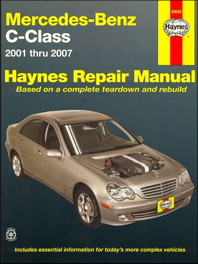 2004 mercedes c230 owners manual