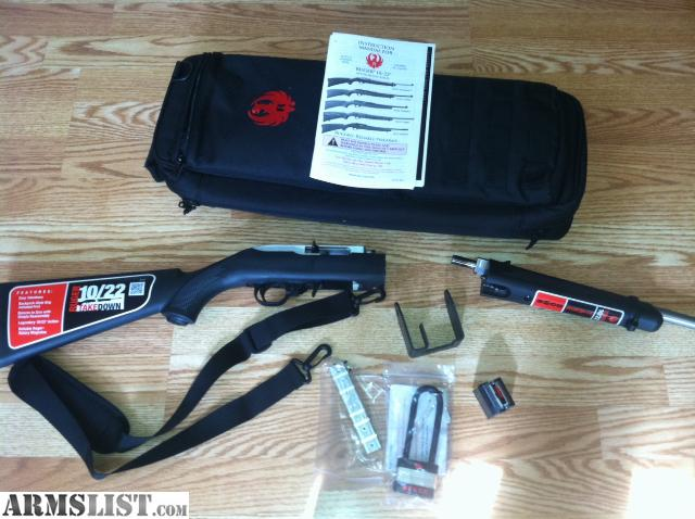 ruger 10 22 takedown owners manual
